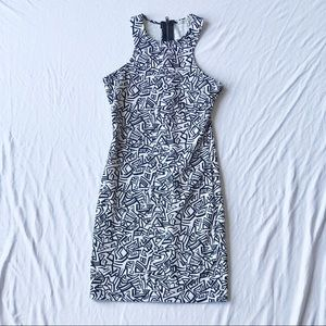Charlotte Russe Dresses - Black and White Geometric Bodycon Dress